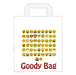 Image Is Loading Emoji Themed Party Bags Treat Girls Boys