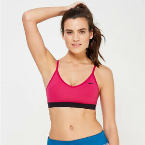 0356e5ad137d3 Image is loading Nike-Ladies-PRO-INDY-padded-Training-Bra-Size-