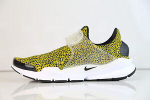 Nike Sock Dart QS Safari University Gold Black 942198-700 8-12 air free