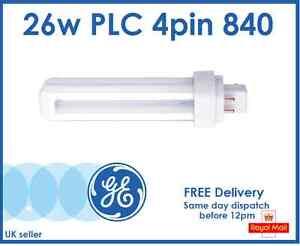 Osram Kompaktleuchtstofflampe Dulux D//E 26W 840 4000K cool white G24Q-3 4 Pin