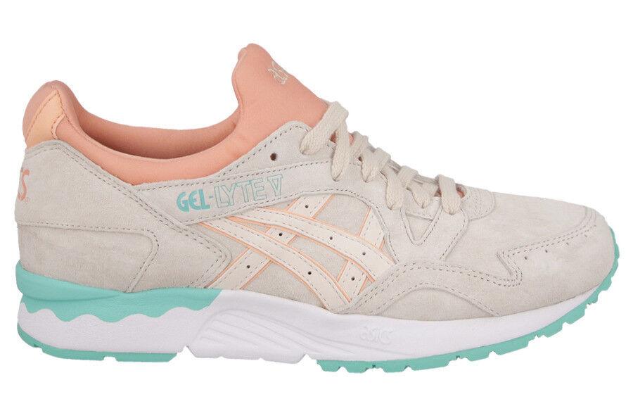 Asics Women's GEL-LYTE V Shoes NEW AUTHENTIC Whisper Pink H6R9L-2121 best-selling model of the brand
