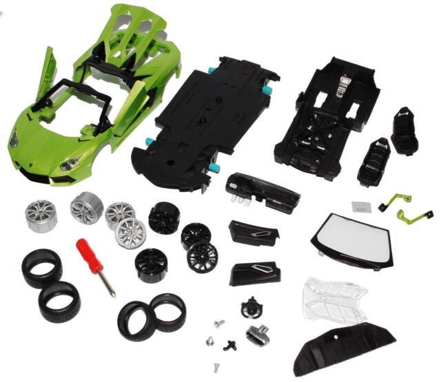 Lamborghini Aventador 1 24 Car Diecast Kit Model Die Cast