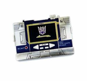 Hasbro-Transformers-Soundwave-Cassette-Player-Tape-Enamel-Pin-Autobots-1-5-034-x-1-034