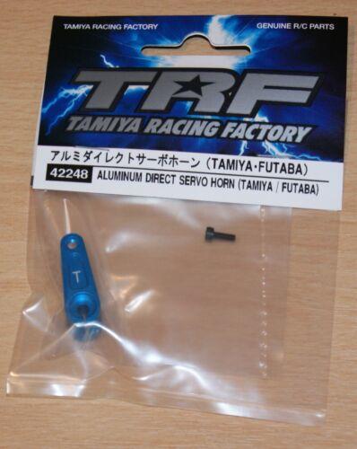 TRF419//TRF420 Tamiya 42248 TRF Aluminum Direct Servo Horn Tamiya//Futaba NIP