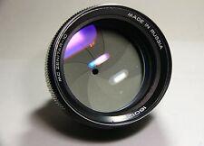 Zenitar-1C 1.4/85mm portrait lens for Panasonic micro 4/3 MFT-mount.Helios 40 2