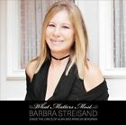 What Matters Most: Barbra Streisand Sings the Lyrics of Alan and Marilyn Bergman [Deluxe Edition] [Digipak] by Barbra Streisand (CD, Aug-2011, 2 Discs, Columbia (USA))