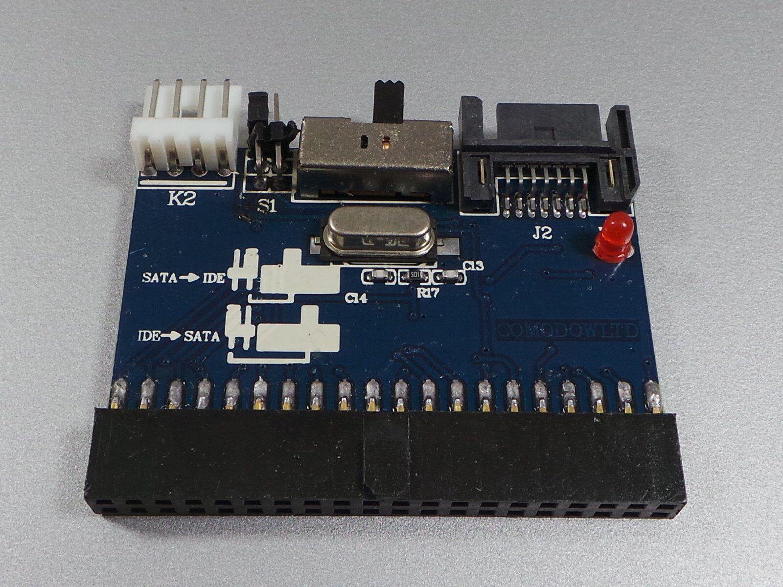 Adapter Board Ide To SATA + SATA on Ide #e688