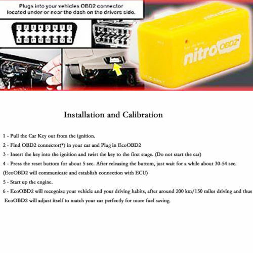 OBD2 Chip Tuning Remap Box Plug In /& Drive Fits Nissan Audi A1 A2 A3 A4 A5 A6