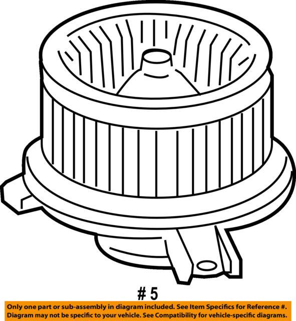 07 08 09 10 11 Honda Crv Ac Heater Blower Motor Oem For Sale Online