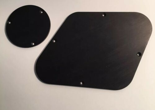 Guilford Genuine Ebony Backplate set For Gibson Les Paul USA