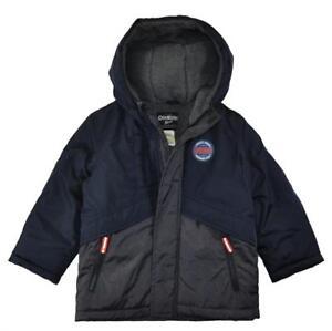 Osh Kosh B/'gosh Boys Blue Heavyweight Jacket Size 8 10 12 $90