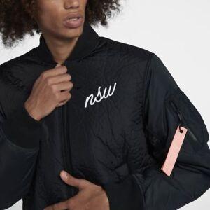 Fill Chaqueta bomber Nuevo M Sportswear Rosa Negro para Nsw hombre Synthetic Nike IqwtUcTW