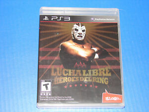 Lucha-Libre-AAA-Heroes-del-Ring-PlayStation-3-PS3-NEW-FACTORY-SEALED-Wrestling