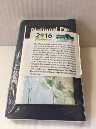 Passport To Your National Parks -Brand New-Shrink-wrapped! 2016 Centennial Ed
