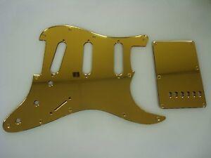 Strat Stratocaster Blue Mirror pickguard set Fender HXH