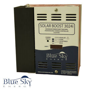 BLUE-SKY-SOLAR-BOOST-3024DiL-MPPT-CHARGE-CONTROL-40A-12V-30A-24V-WITH-DISPLAY
