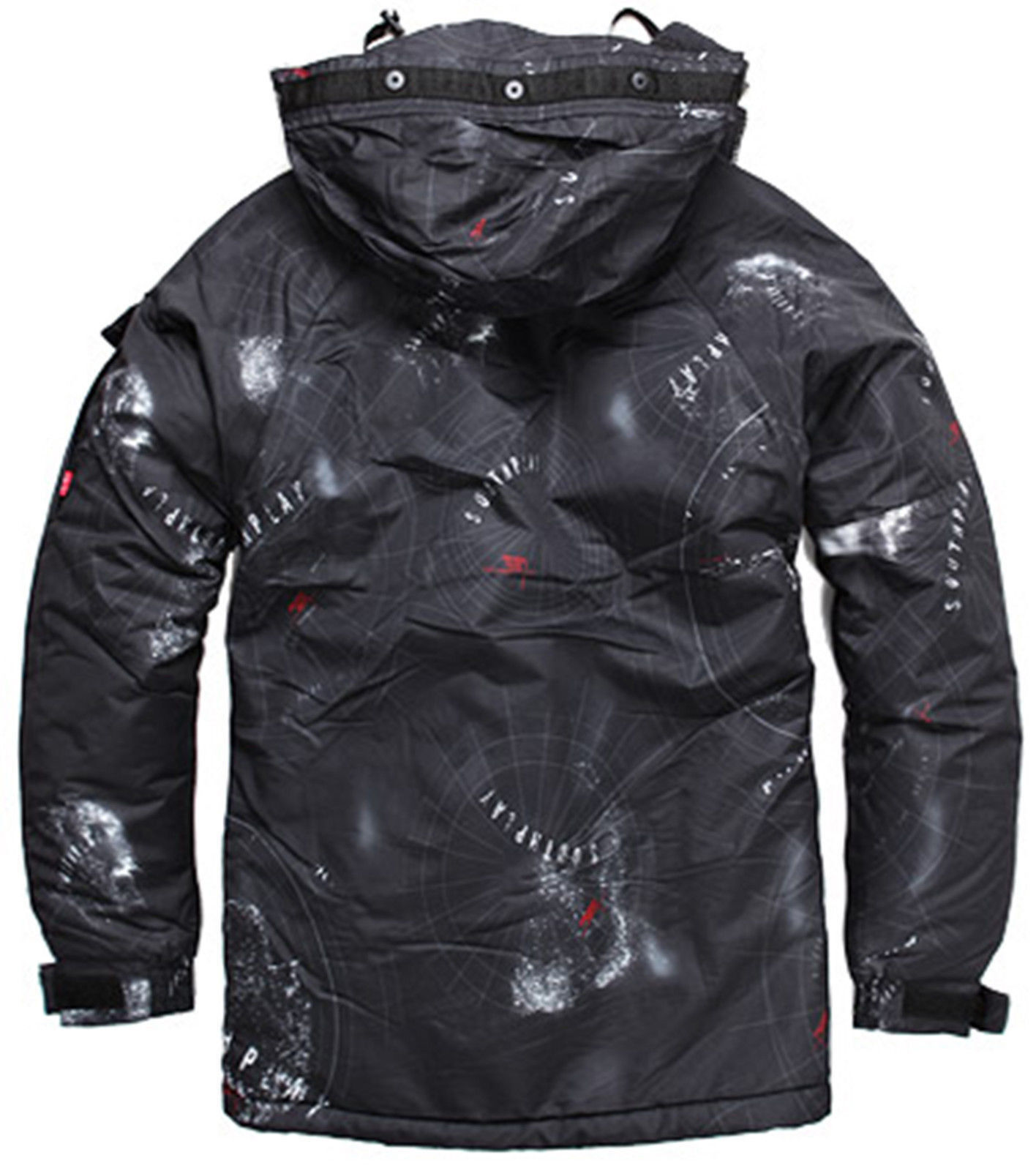 2019 2019 2019 SouthPlay Military Gemusterte Wasserdichte Oberbekleidung Jacke Space 291a0c