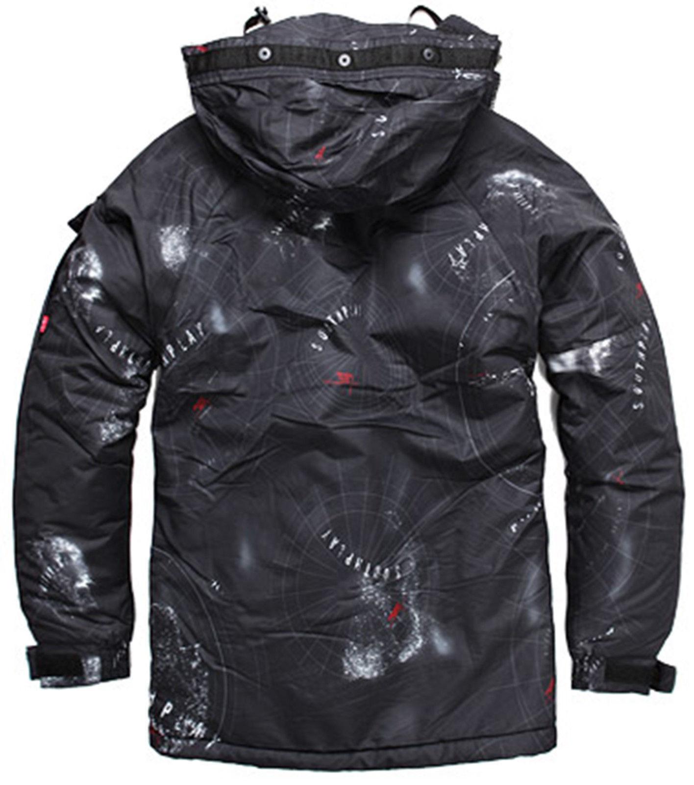 2019 2019 2019 SouthPlay Military Gemusterte Wasserdichte Oberbekleidung Jacke Space f77f6c
