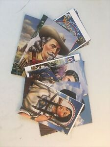 Collection Or Postal Cards  Legends Of The West Set Of 20 Cards e-71