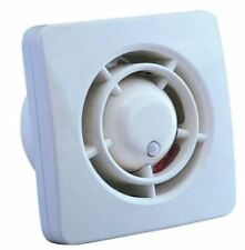 Manrose 4 Inch Bathroom Fan with Timer & Humidistat