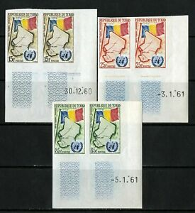 Chad-Stamps-67-9-NH-Imperf-Pair