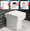 thumbnail 10 - Bathroom-Bundle-500WC-Unit-Toilet-Pan-amp-Seat-Concealed-Cistern-Vanity-Unit