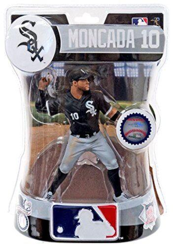 "Yoan Moncada Chicago White Sox Imports Dragon MLB Baseball ACTION FIGURE 6/"""