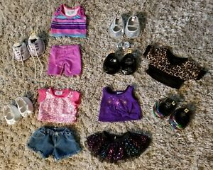 Build-A-Bear-Workshop-Clothing-Shoes-Outfits-Accessories-HUGE-BABW-18-PIECE-LOT
