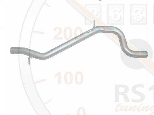 Fondos reemplazo silenciador tubo para audi a3 s3 8p 2,0 tfsi 3,2 Quattro /> nuevo /<