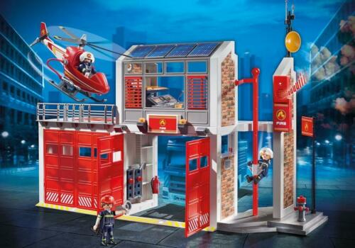 Playmobil #9462 Fire Station New Factory Sealed