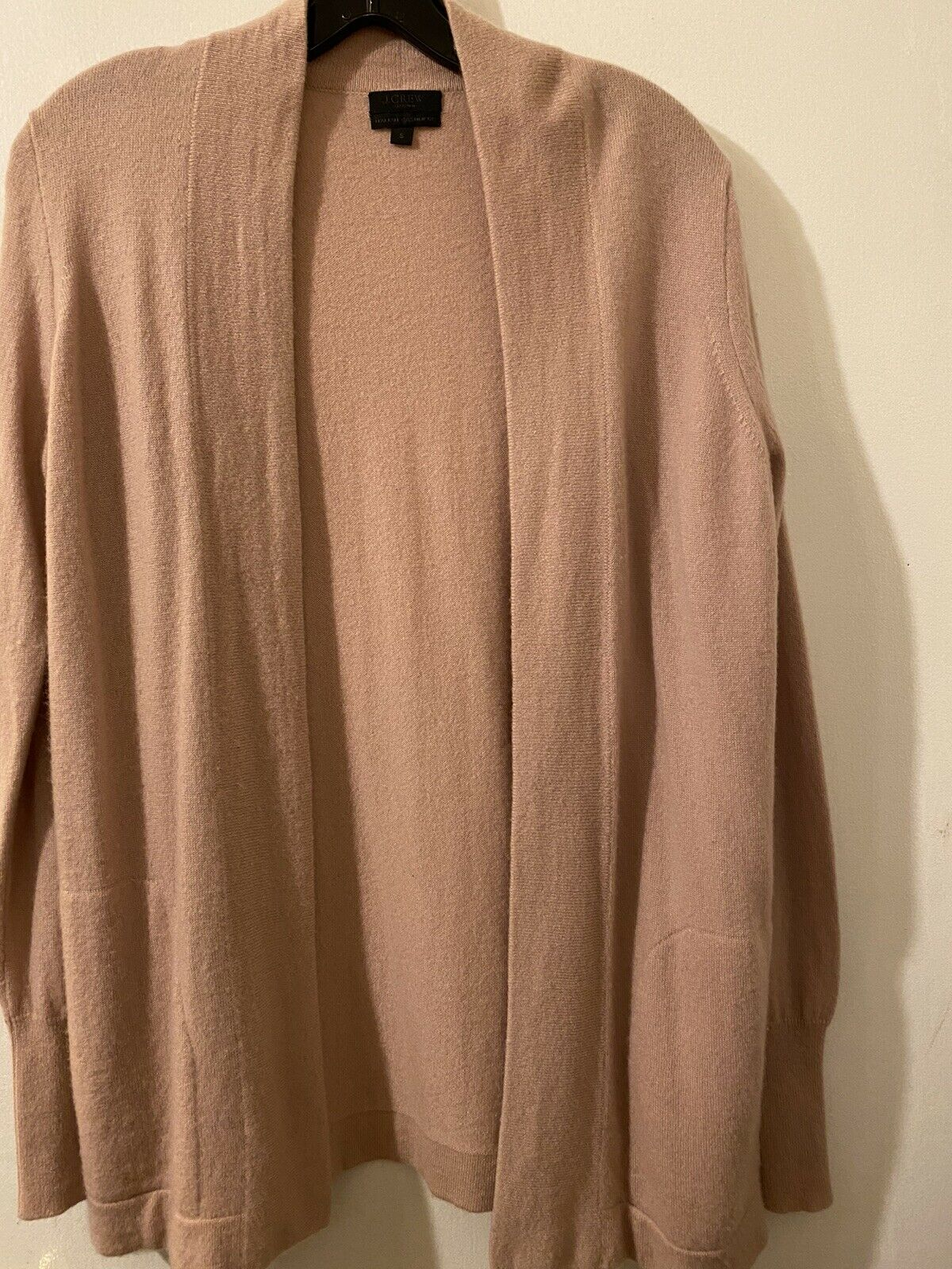 J. Crew Collection Cashmere Open Cardigan Size S … - image 1