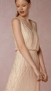 2ae4f0d2c8b Image is loading New-BHLDN-Adrianna-Papell-BROOKLYN-Pale-Pink-Champagne-