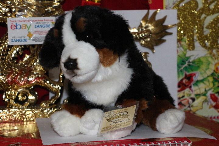 Webkinz Signature Bernese Mountain Dog Wks1017 Ganz Plush Stuffed