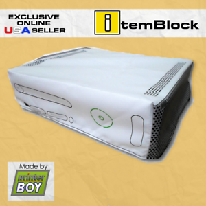 XBox-360-White-Console-System-Dust-Cover-Exclusive-eBay-US-Seller