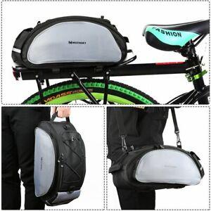 Fahrradtasche-Gepaecktasche-Gepaecktraeger-Tasche-mit-Schulterriemen-13L-schwarz