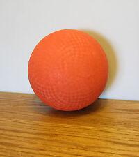 "SET OF 2 YELLOW PLANES DESIGN 8-1//2/"" KICKBALL DODGEBALL DEFLATED"