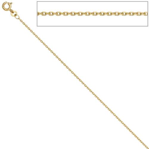Ankerkette 585 Gelbgold 1,6 mm 45 cm Gold Kette Halskette Goldkette