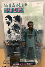 "Miami Vice TV Ricardo ""Rico"" Tubbs Action Figure (Seafoam Suit)"