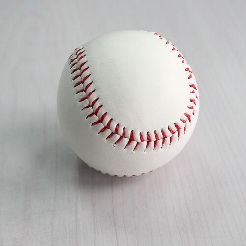 "9/"" Soft Leather Sport Practice /& Trainning Base Ball BaseBall Softball  OJ"