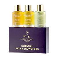 Aromatherapy Associates Essential Travel Oil Bath Shower Message 3 X 7.5ml 6471