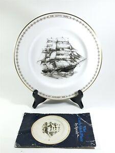 Vintage-The-Cutty-Sark-Plate-1869-1969-Spode-Bone-China-lt-25-3