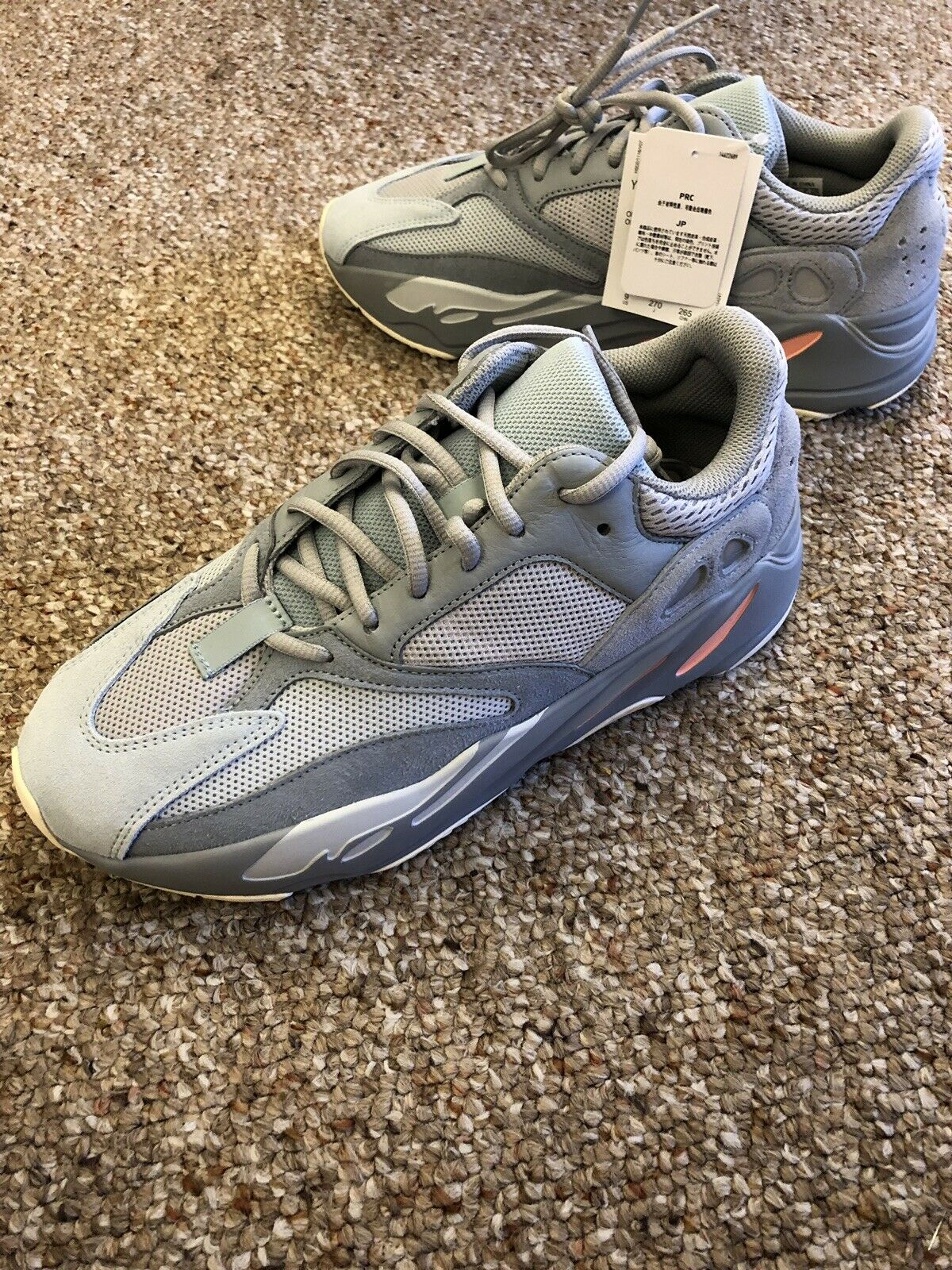 Adidas Yeezy Boost 700 Inertia US Men's Size 9 100% Authentic