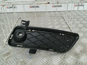 BMW-X3-2010-2014-GENUINE-DRIVERS-FRONT-BUMPER-O-S-RIGHT-PDC-FOG-LIGHT-GRILL