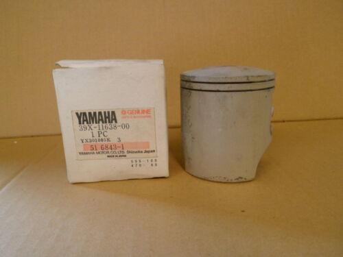 Genuine Yamaha YZ250L 1984 piston 1.00mm Twinshock Vintage NOS 39X-11638-00 Evo