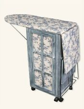 Victorian Trading Co French Country Ironing Day Station Ironing Board & Cabinet
