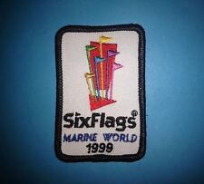 1999 Six Flags Marine World Vallejo California Jacket Collectable Patch Crest