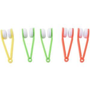 5-Piezas-Mini-gafas-de-sol-de-gafas-de-microfibra-Gafas-Limpiador-herramien-F8J1