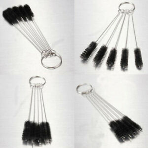 Stainless-Steel-Pipe-Tube-Cylinder-Bores-Bottle-Cleaning-Wire-Brush-5x-Set