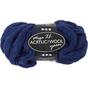 Mega Xl Garn Armstricken Dickes Garn Decke 300 G Wolle Stricken