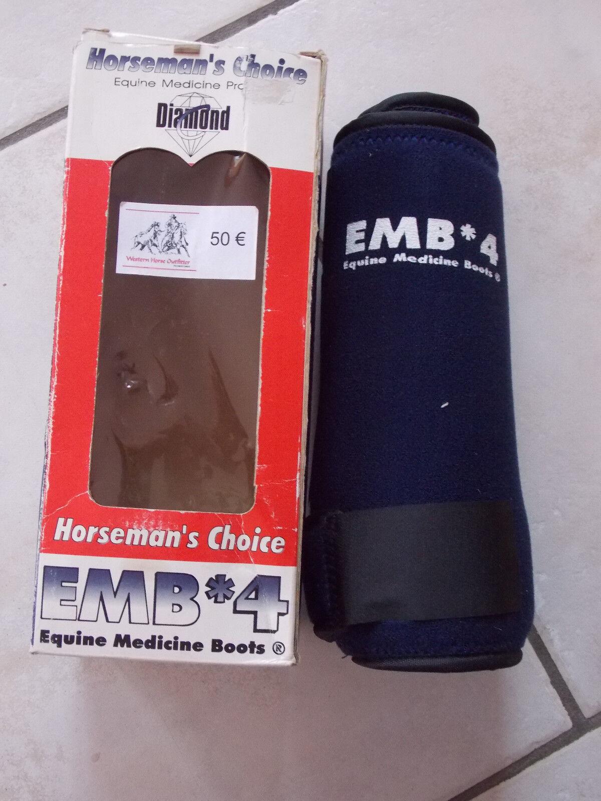 ■■■ EMB medicine Stiefel, neu, ovp, unbenutzt, dunkelblau, Gr. L Klettverschluß ■■■    | Neueste Technologie